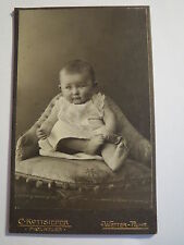 Clima Ruhr-Ruth Höger/höyer Zorn 18.8.1908 como Baby-Portrait/CDV