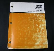 Case 688 Crawler Excavator Tractor Part Manual PIN 74123 to 74485 11501 to 11555
