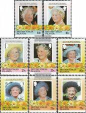 Jungferninseln 519-526 (kompl.Ausg.) postfrisch 1985 Königinmutter Elisabeth