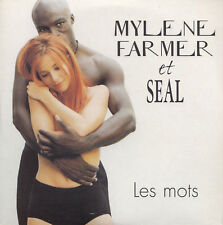 Mylene Farmer & Seal, les mots,  CD single neuf