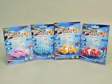 Water Toy Robo Fish Nemo Electric Auto Swim Function Tub, Pool, Aquarium 4 Pack
