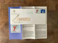 New listing CANADA 1980 FDC ARCTIC ISLANDS DOWNHILL SKIING OLYMPIC GAMES LAKE PLACID INSERT