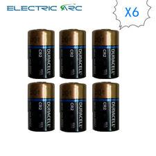 6x Duracell CR2 DLCR2 ELCR2 3V Ultra Lithium Batteries EXP2027