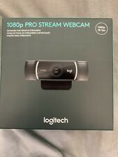 Logitech C922x Pro Stream 1080p Webcam For HD Streaming NEW IN HAND SHIPS 2DAY
