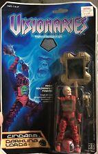 Visionaires New Cindarr Darkling Lords 1987 Hasbro Vintage Action Figure Rare