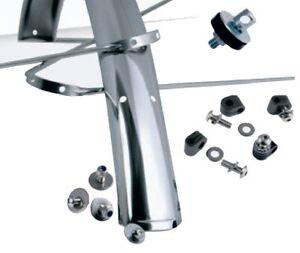 Gilles Berthoud Stainless Steel Mudguards 650B x 50mm