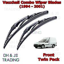 Front Flat Blade Wiper B Vauxhall Tigra TwinTop Aero Wiper Blades 04-09