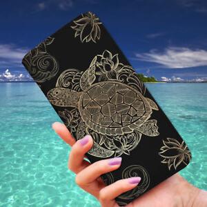 Sea Turtle Long Wallet, Turtle Lover Gift Idea, Sea Life Snap Close RFID Wallet