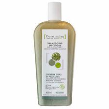 Dermaclay - Shampoing Bio Capilargil Cheveux gras & Pellicules Argile verte 400m