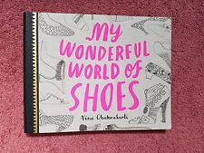 MY WONDERFUL WORLD OF SHOES - BOOK -- FREE SHIPPING!!