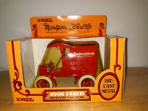 Ertl Diecast Bank NIB 1905 Ford