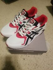 Asics Tiger Gel- DS Trainer OG White Black Red H704Y-100 Men's Size 10.5