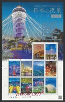 Japan 2016 Japanese Night View Series No. 2 Bridge Firework Stamp S/S