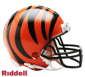 Cincinnati Bengals VSR4 Riddell Football Mini Helmet New in box