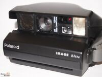 Polaroid Instant Camera Image Elite Spectra-Color / Sw Lens 125mm Coated