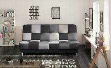Couch mit Schlaffunktion Sofa Schlafsofa Wohnzimmercouch Klappsofa KAYA Grau