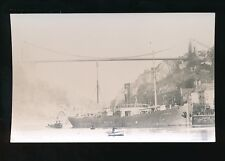 Gloucestershire Glos BRISTOL Shipping ship Moorby at Clifton c1950/60s? RP PPC