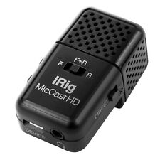 IK Multimedia iRig Mic Cast HD Mobile Device Podcasting Microphone