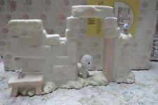 Precious Moments Mini Nativity Wall with Lamb Mouse Bird Attached to Wall