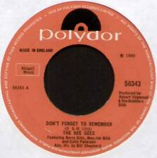"BEE GEES~DON'T FORGET TO REMEMBER / THE LORD~1969 UK 7"" SINGLE~POLYDOR 56343"