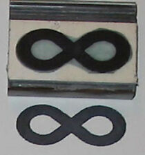 Infinity Symbol rubber stamp by Amazing Arts