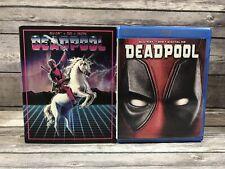 Deadpool (Blu-ray, DVD, Digital, Limited Edition Unicorn Slipcover) MINT Discs