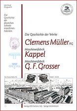 Dingwerth: Geschichte Schreibmaschinen: Cl.Müller (Urania Perkeo) Kappel Grosser