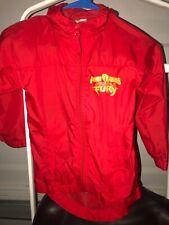 Disney Power Rangers Jungle Fury Childrens Windbreaker Jacket Size Xl