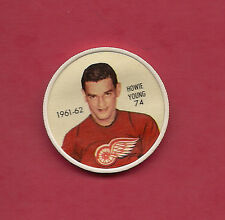 RARE 1961-62 SALADA DETROIT HOWIE YOUNG COINS