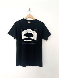 Vintage Godflesh Face Shirt 90s M Medium Industrial Band Rare Vtg Jesu Swans