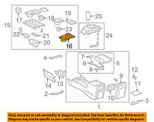TOYOTA OEM 10-18 4Runner Center Console-Insert Panel 5883135020