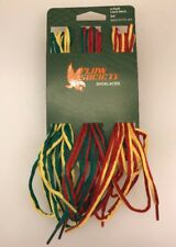 "Flow Society Shoelaces 3 Pair Pack 54"" LAX Lacrosse Rasta Multi Color"