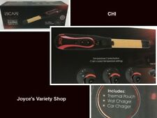 """CHI Professional Cordless Curling Iron 1"""" Ceramic Wall  Car Charger 3 Temps"""