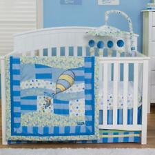 NIP TREND LAB DR. SEUSS OH THE PLACES YOU'LL GO 3 PC BABY BLUE CRIB BEDDING SET