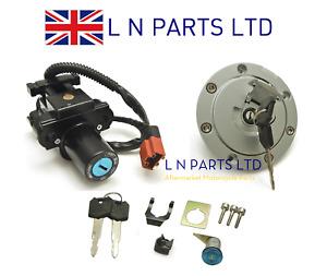 Honda CBR600RR Complete Ignition Barrel, Fuel Cap, Key & Lock Set 2007 - 2014