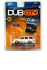 2002 Jada DUB CITY 2002 Cadillac Escalade (White)