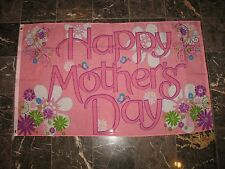 3x5 Happy Mothers Day Pink Décor Decoration flag 3'x5' banner grommets