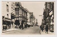 Devon postcard - High Street, Exeter - RP (A293)