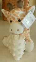 Moon & Stars Infant Baby Giraffe Lovey with Small Blanket Plush Animal