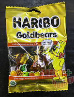80g. HARIBO Original Gold Bears Gummy Gummi Chewy Candy Jelly Sweets