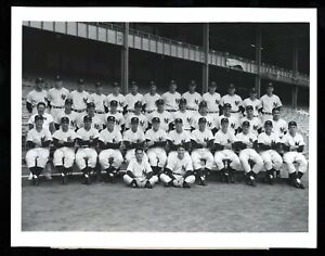 1954 Yankees Team Type 1 Original Photo PSA/DNA Mickey Mantle Crystal Clear!