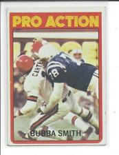 * BUBBA SMITH * 1972 TOPPS NFL VINTAGE FOOTBALL CARD PRO ACTION # 127