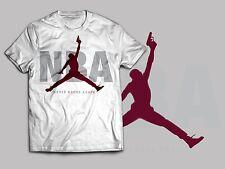 "Jordan Retro 6s Maroon Nba """"NEVER BROKE AGAIN"" Sneaker Clothing Mens White"