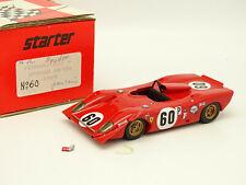 Starter Kit Assembled 1/43 - Ferrari 312 P Spyder Brands Hatch 1969 No. 60