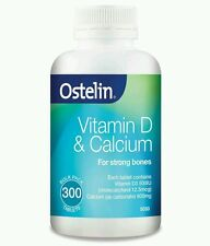 Ostelin Vitamin D & Calcium 300 Tablets - OzHealthExperts
