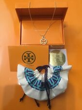 "Tory Burch Gold Plated 20"" Necklace 5pc Gift Set"