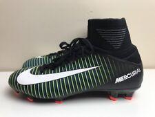 Nike JR Mercurial Superfly FG UK 4.5 EUR 37.5 Black 831943 013