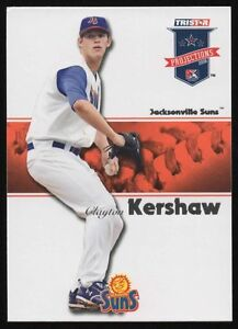 2008 TRISTAR PROJECTIONS #263 CLAYTON KERSHAW