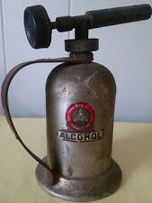 Rare Vintage Lenk Steel Alcohol Blowtorch (Item #EJ33)
