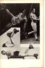 """70000. """"York Leg Developing Course"""" Bob Hoffman Physical Fitness Booklet ca 1950"""